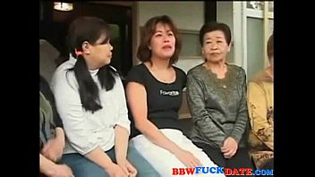 japanese group of buddies nailing japanese.