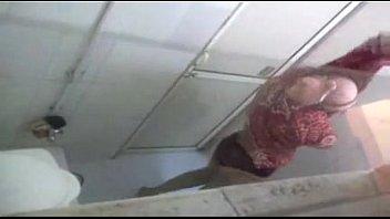 Indian Hot Aunt Bath Captured through bathroom ventilator window - Wowmoyback