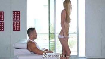 Passion-HD - Hot blonde babe Brooke Logan anal exploration
