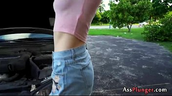 Pornstar Aubrey Adore - Inked Blondes Ass Full Of Cum
