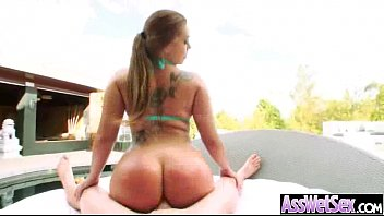 Horny Girl (klara gold) With Big Butt Get Oiled And Anal Sex movie-23