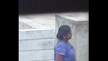 Indian aunty waiting for 2nd husband knowing video is recording so boobs popped