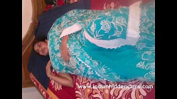 mallu bhabhi bare disrobing blue sari frolicking with.