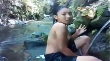 xhamster.com 7017689 asian babe bathing at the river