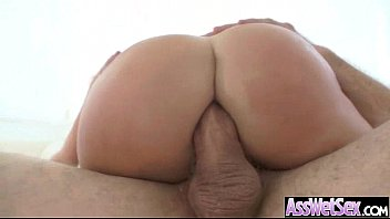Horny Girl (britney amber) With Big Butt Get Oiled And Anal Sex movie-03