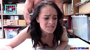 little shoplifter kylie martin gets stuffed
