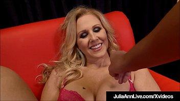 Big Boobed Blonde Milf Julia Ann Strokes &amp_ Blows Your Dick!
