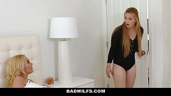 badmilfs - crazy cougar pummels daughters-in-law.