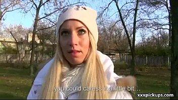 Public Blowjob For Cash With Nasty Teen Czech Girl 14