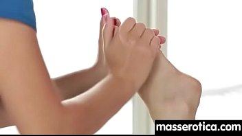 Fingering orgasms during sensual lesbian sex 26