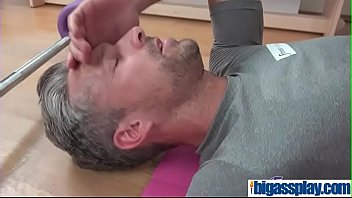 Gym girl POV blowjob and creampie(Morgan Rodriguez) 01 mov-05
