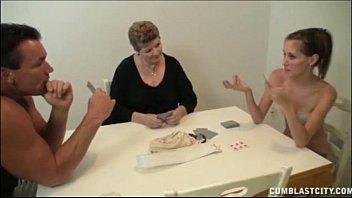 card game hand-job
