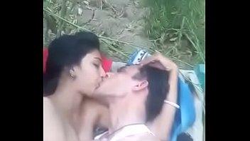 north indian couple sema lip kiss