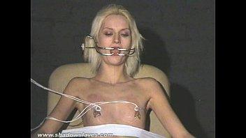 Extreme needle tortures and hardcore bdsm of blonde slavegirl in severe nipple