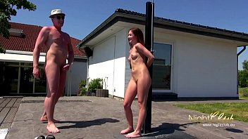 Outdoor Sex mit kleinem teen Girl
