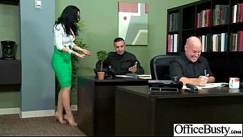 (jayden jaymes) Sexy Girl With Big Boobs Banged In Office movie-14