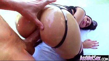 (valentina nappi) Slut Girl With Big Butt Get Oiled And Deep Anal Sex mov-29