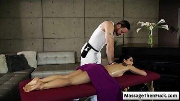 Gina Valentina gets a sensual massage and prepare for a good fuck