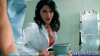 hook-up gauze with gorgeous physician and supah-plowing-hot patient.