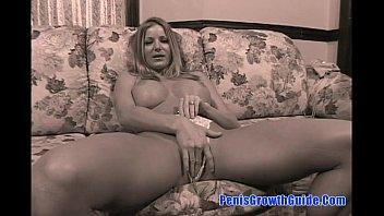 Amber Michaels - Big Tits Blonde Sucked A Big Cock