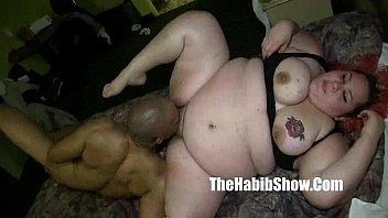 monster dick redzilla bangs her BBW white pussy mixed ho by hooded fuck