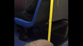 Public Wanker Jerks his Cock for Indian Milf on Public Bus pt 2