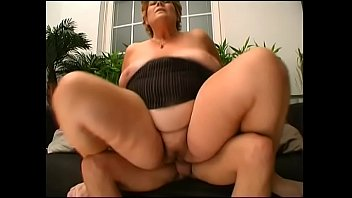saggy grandma penetrated by cock-squashing youthful.