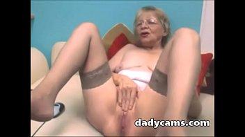 Super Horny Mature Masturbates Pussy On Webcam