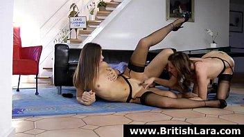 Stocking wearing mature British lady fucked