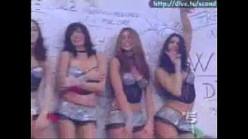 four ladies dancing in their lingerie