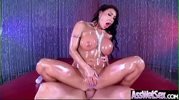Anal Sex With Horny Big Butt Oiled Girl (August Taylor) video-10